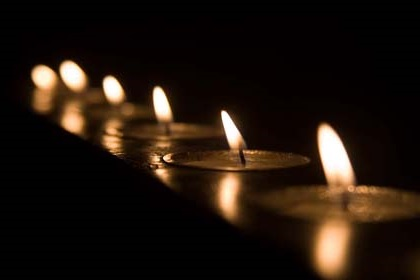 votive candles finding my way back