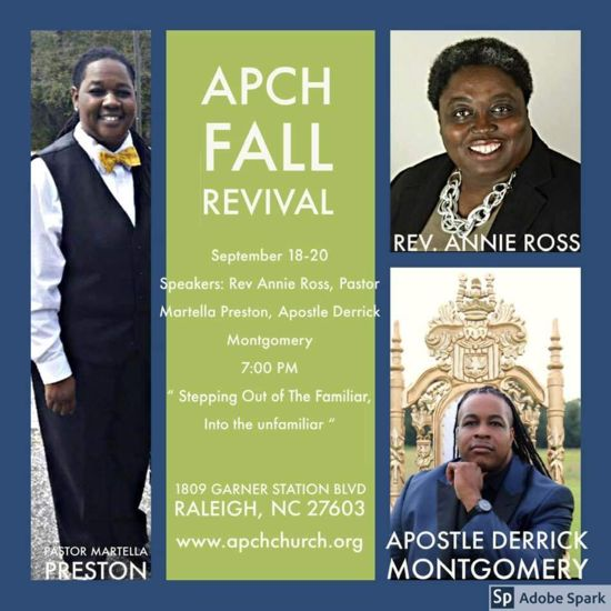 A Place Called Hope Fall Revival 2019